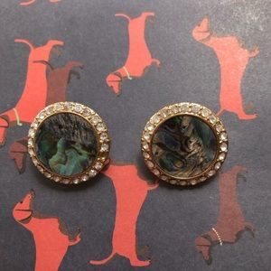NWOT Chino's Vintage Round Earrings Clip on